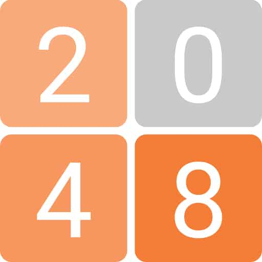 A 2048 game