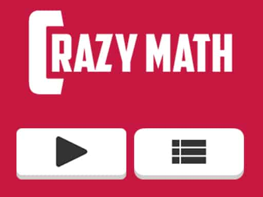 A crazymath game