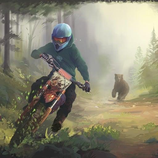 A bear game