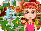 Garden Decoration a Girls clean Game