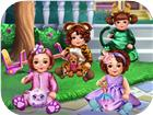 Kindergarten Dress Up a Girls baby Game