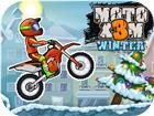 Moto X3M 4 Winter a Racing bike stunt Game